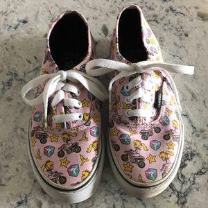 "Vans Shoes, Mario Cart ""Game Over"" Kids"